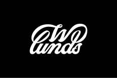 Wlunds Logo White on Black